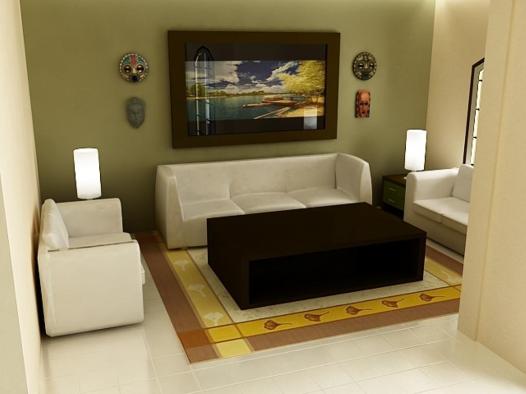 Desain Ruang Tamu Rumah Minimalis Sederhana 9 Model Rumah Cantik